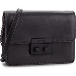 Torebka DKNY - Ann Sm Shoulder Fla R82EW474 Blk/Black BBL. Czarne torebki do ręki damskie DKNY, ze skóry. Za 849.00 zł.