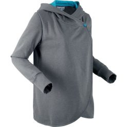 Bluza rozpinana, długi rękaw, z kolekcji Maite Kelly bonprix dymny szary melanż. Bluzy damskie marki KALENJI. Za 109.99 zł.
