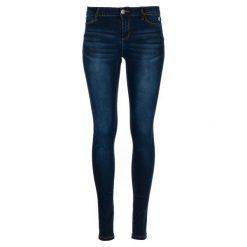 Desigual Jeansy Damskie Kentya 25 Ciemnoniebieski. Niebieskie jeansy damskie Desigual. Za 349.00 zł.