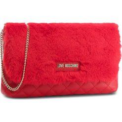 Torebka LOVE MOSCHINO - JC4300PP06KP150A  Rosso. Czerwone torebki do ręki damskie Love Moschino, z materiału. W wyprzedaży za 339.00 zł.