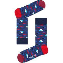 Happy Socks - Skarpety Brick. Niebieskie skarpety męskie Happy Socks. W wyprzedaży za 27.90 zł.