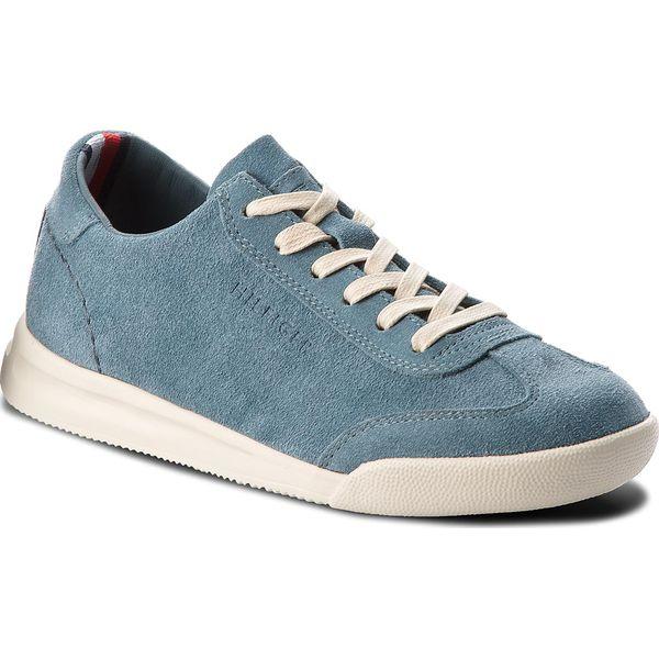 26c4ab8c14855 Sneakersy TOMMY HILFIGER - Casual Suede Low Cut Sneaker FM0FM01423 ...