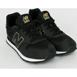 New Balance - Buty GW500KGK. Czarne obuwie sportowe damskie New Balance, z materiału. W wyprzedaży za 239.90 zł.