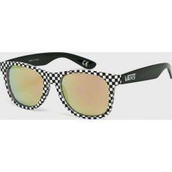 Vans - Okulary VN000LC0PIT1. Szare okulary przeciwsłoneczne męskie Vans, z materiału. Za 69.90 zł.