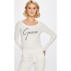 Guess Jeans - Sweter. Szare swetry damskie Guess Jeans, z jeansu. Za 319.90 zł.