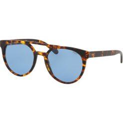 Polo Ralph Lauren - Okulary PH4134. Szare okulary przeciwsłoneczne męskie Polo Ralph Lauren, z materiału. Za 549.90 zł.
