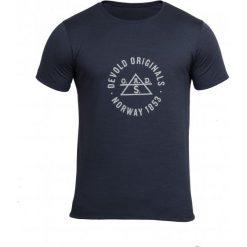 Devold Męska Koszulka Original Tee Czarny M. Czarne koszulki sportowe męskie Devold, z wełny, z krótkim rękawem. Za 315.00 zł.