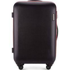 Walizka średnia 56-3-612-10. Czarne walizki damskie Wittchen, z gumy. Za 249.00 zł.