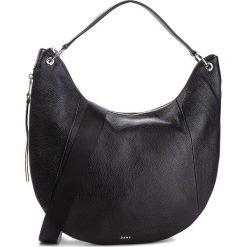 Torebka DKNY - Tompson Lg Hobo R83CY715  Bsv/Black/Silver 46. Czarne torebki do ręki damskie DKNY, ze skóry. Za 1,199.00 zł.