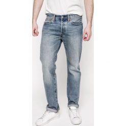 Levi's - Jeansy 501. Brązowe jeansy męskie Levi's. W wyprzedaży za 249.90 zł.