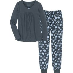 Piżama bonprix nocny niebieski - niebieski z nadrukiem. Piżamy damskie marki MAKE ME BIO. Za 74.99 zł.
