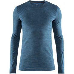 Craft Koszulka Sportowa Męska Fuseknit Comfort Ls Blue M. Niebieskie koszulki sportowe męskie Craft, na zimę, z długim rękawem. Za 135.00 zł.