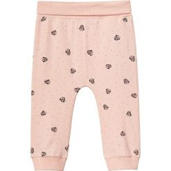 """Spodnie """"Minnie"""" w kolorze brzoskwiniowym. Spodenki niemowlęce marki name it girls. W wyprzedaży za 42.95 zł."""