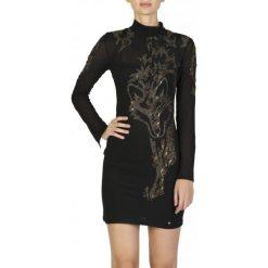 Guess Sukienka Damska S Czarny. Czarne sukienki damskie Guess. W wyprzedaży za 559.00 zł.