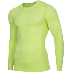 Longsleeve baselayer męski 4FPro TSMLF402 - żółty neon. Bluzki z długim rękawem męskie marki Marie Zélie. Za 119.99 zł.