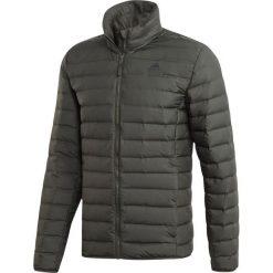 Brązowe kurtki i płaszcze męskie Adidas Kolekcja zima 2020
