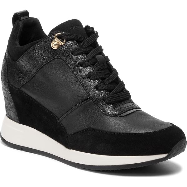 Sneakers GEOX D Nydame A D620QA 00077 C999 Black