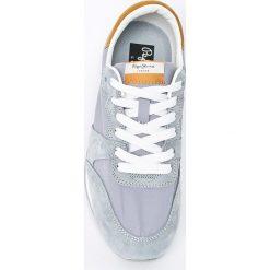 Pepe Jeans - Buty Bimba Basic. Szare obuwie sportowe damskie Pepe Jeans, z jeansu. W wyprzedaży za 219.90 zł.