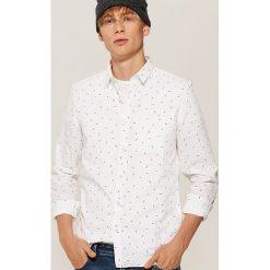 Koszula w mikrowzór - Biały. Koszule męskie marki Giacomo Conti. W wyprzedaży za 49.99 zł.
