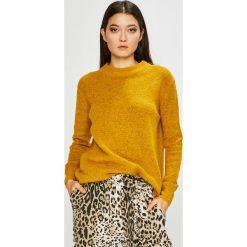 Medicine - Sweter Basic. Brązowe swetry damskie MEDICINE, z dzianiny, z okrągłym kołnierzem. Za 99.90 zł.