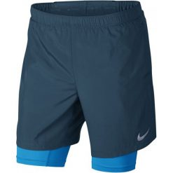Nike Szorty Męskie M Nk Chllgr 2In1 Short 7in Blue Force Equator Blue S. Krótkie spodenki sportowe męskie marki DOMYOS. Za 155.00 zł.