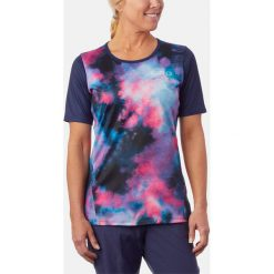 GIRO Koszulka damska ROUST JERSEY S midnight tie dye (GR-8053501). T-shirty damskie GIRO, z jersey. Za 142.29 zł.