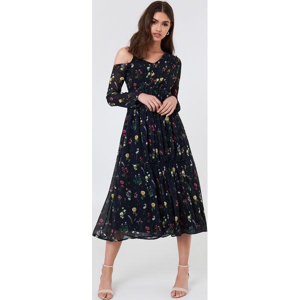 c5a7161941 NA-KD Boho Asymetryczna sukienka - Black