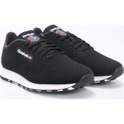Reebok Classic - Buty Cl Leather Ultk. Czarne buty sportowe męskie Reebok Classic, z materiału. W wyprzedaży za 249.90 zł.