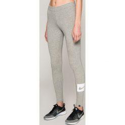 Nike Sportswear - Legginsy. Szare legginsy damskie Nike Sportswear, z bawełny. Za 99.90 zł.