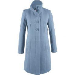 Płaszcz bonprix matowy niebieski. Płaszcze damskie marki FOUGANZA. Za 169.99 zł.
