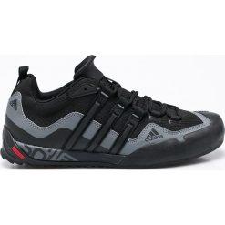 Adidas Performance - Buty Terrex Swift Solo. Czarne trekkingi męskie adidas Performance, z materiału. Za 399.90 zł.