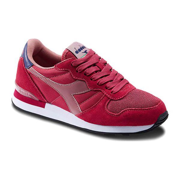 b1dc379b93083 Sneakersy w kolorze czerwono-różowym - Trampki i tenisówki damskie ...