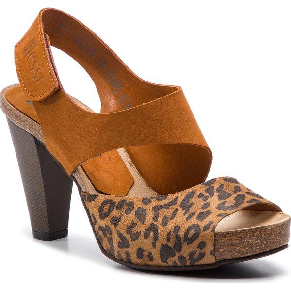Sandały NESSI 42103 KoniakPantera Camel
