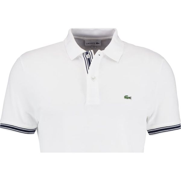 5a1747e5b Lacoste SLIM FIT Koszulka polo weiß - Koszulki polo męskie marki ...