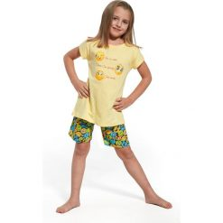 Piżama dziewczęca Smile żółta r. 110/116. Żółte bielizna dla chłopców Cornette. Za 50.68 zł.