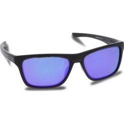 Okulary przeciwsłoneczne OAKLEY - Holston OO9334-0958 Matte Black/Violet Iridium. Czarne okulary przeciwsłoneczne męskie Oakley, z tworzywa sztucznego. W wyprzedaży za 449.00 zł.