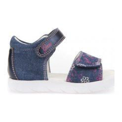Geox Sandały Dziewczęce Alul 21 Niebieski. Niebieskie sandały dziewczęce Geox. W wyprzedaży za 149.00 zł.