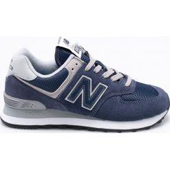 New Balance - Buty WL574EN. Szare obuwie sportowe damskie New Balance, z gumy. Za 349.90 zł.