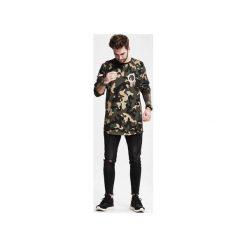 Longsleeve Force. Zielone bluzki z długim rękawem męskie Ortiz®, moro, z bawełny. Za 139.00 zł.