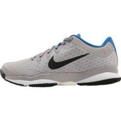 Nike Performance AIR ZOOM ULTRA Obuwie do tenisa Outdoor atmosphere grey/black white/blue/vast grey. Trekkingi męskie Nike Performance, z materiału, outdoorowe. Za 379.00 zł.