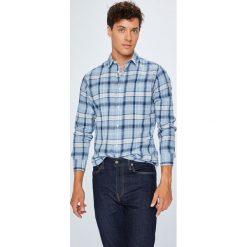 Premium by Jack&Jones - Koszula. Szare koszule męskie Premium by Jack&Jones, w kratkę, z bawełny, z klasycznym kołnierzykiem, z długim rękawem. W wyprzedaży za 179.90 zł.