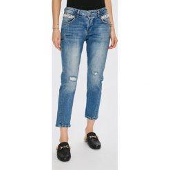 Guess Jeans - Jeansy Vanille. Niebieskie jeansy damskie Guess Jeans. Za 639.90 zł.