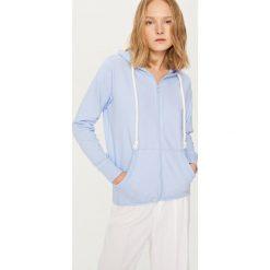 Bluza z kapturem - Niebieski. Bluzy damskie marki Pulp. W wyprzedaży za 79.99 zł.