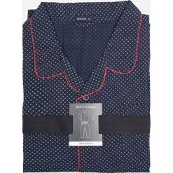 Piżama dwuczęściowa - Granatowy. Niebieskie piżamy męskie Reserved. Za 129.99 zł.