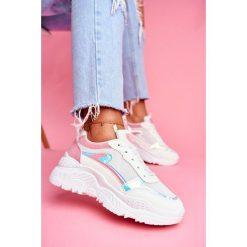 Białe obuwie sportowe damskie BUGO Kolekcja wiosna 2020