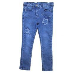 Carodel Spodnie Jeansowe Dziewczęce Z Gwiazdkami 98 Niebieski. Jeansy dla dziewczynek marki bonprix. Za 59.00 zł.