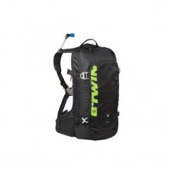 Plecak na rower MTB AM 920 z bukłakiem. Czarne plecaki damskie B'TWIN, z materiału. Za 199.99 zł.