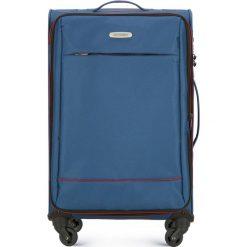 Walizka średnia 56-3S-462-90. Niebieskie walizki damskie Wittchen. Za 259.00 zł.
