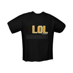 GamersWear LOL T-Shirt czarna (L) ( 5013-L ). Czarne t-shirty i topy dla dziewczynek GamersWear. Za 92.45 zł.