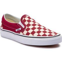 Wyprzedaż czerwone obuwie męskie Vans Kolekcja zima 2020